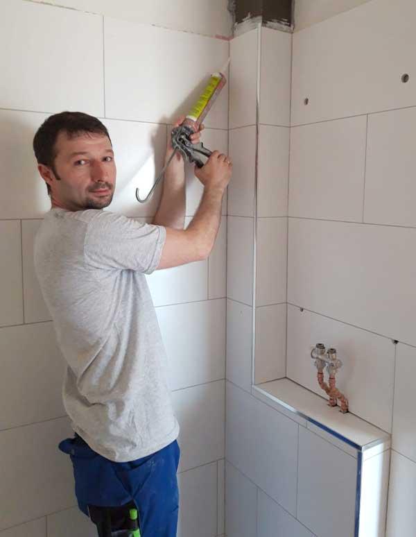 Sergei Maister bei der Arbeit